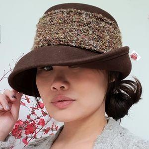 🌟 Vintage Brown Wool Hat 🌟